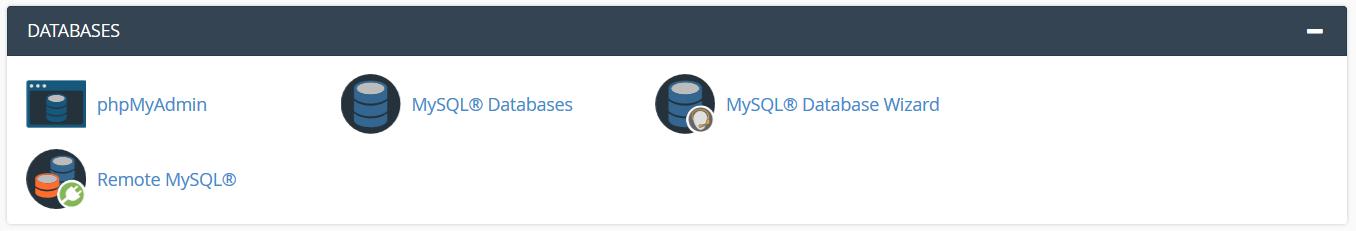 ابزارهای پایگاه داده (DataBase)