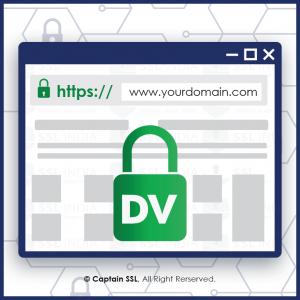 گواهینامه DV SSL