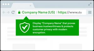 گواهینامه EV SSL