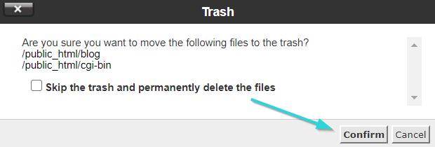 پاک کردن فایل ها