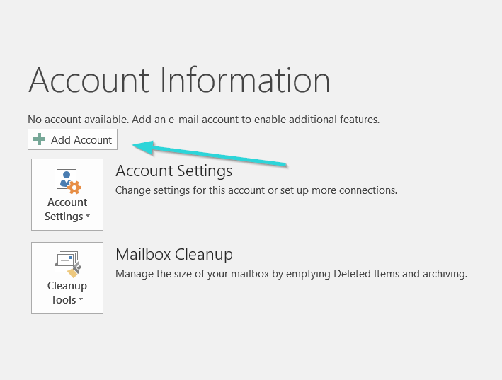 اضافه کردن ایمیل