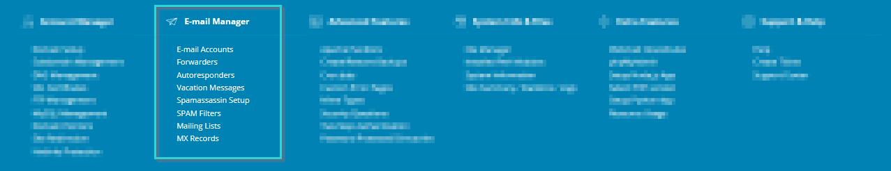 مدیریت ایمیل در دایرکت ادمین