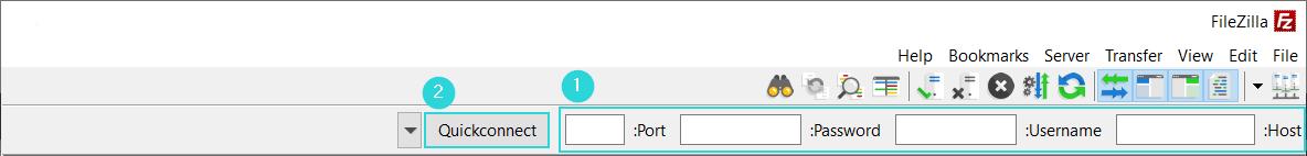 ساخت اکانت FTP