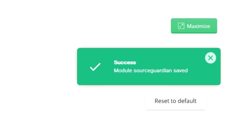 فعال کردن فعال کردن Sourceguardian