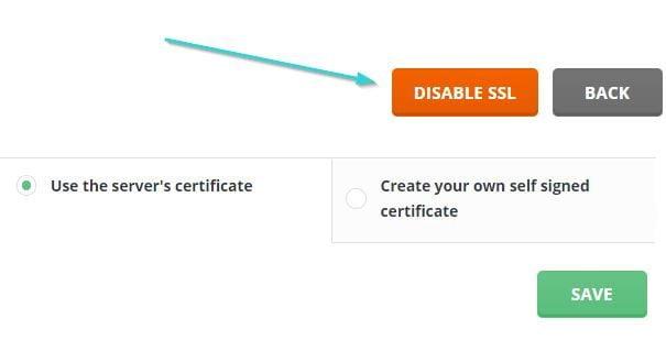 نصب گواهی SSL در دایرکت ادمین