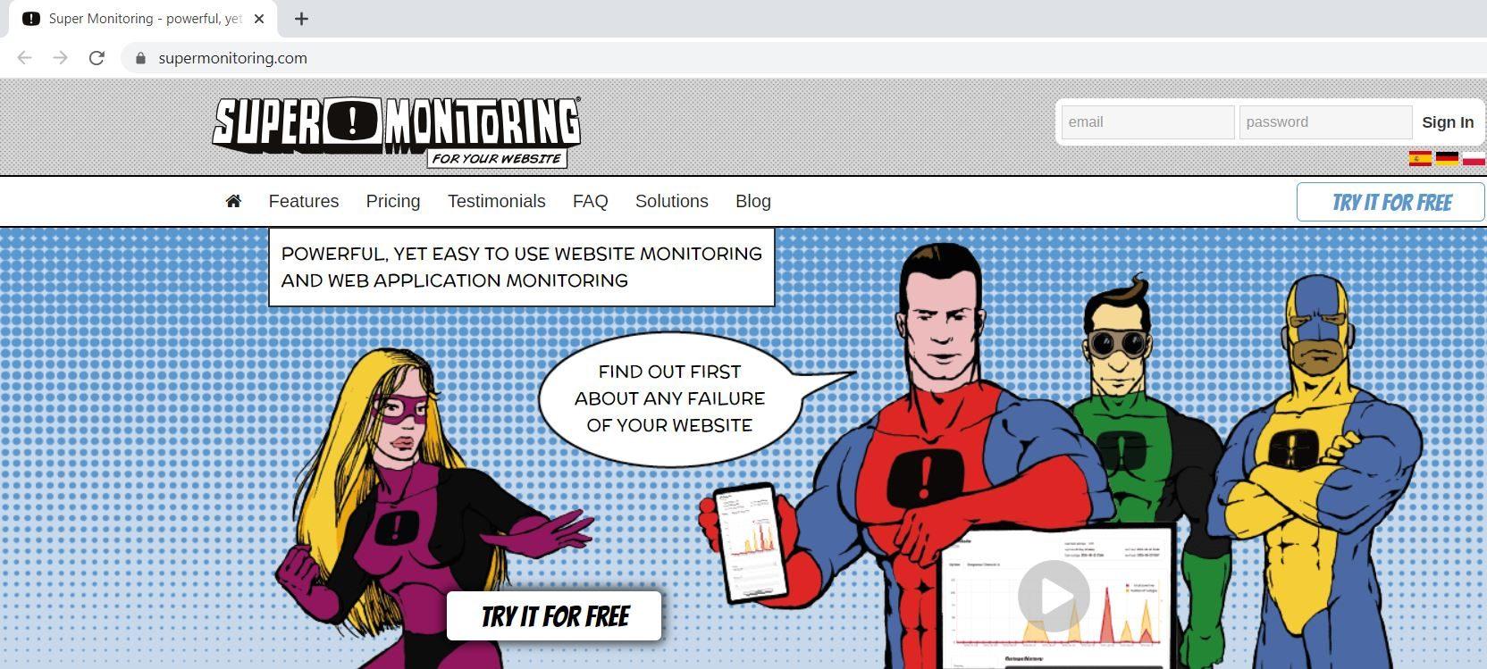 مانیتورینگ هاست با ابزار Super Monitoring