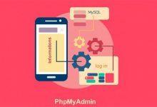 تصویر از آموزش ورود به PHPMyadmin