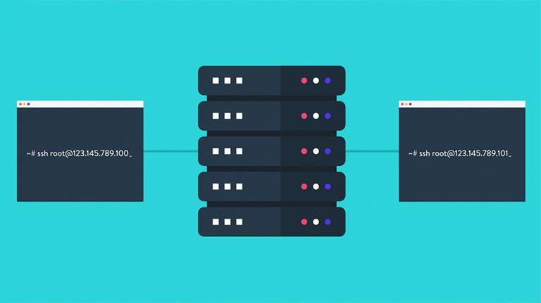 آموزش نحوه اتصال به SSH