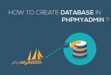 تصویر از آموزش ساخت دیتابیس در PHPMyAdmin