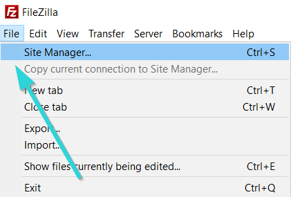 اتصال هاست به Filezilla