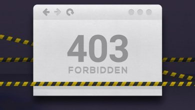 تصویر از آموزش رفع خطای forbidden 403