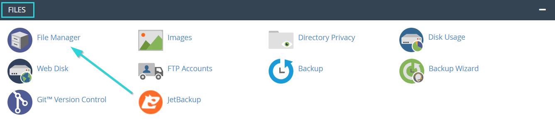 نحوه حذف فایل در سی پنل