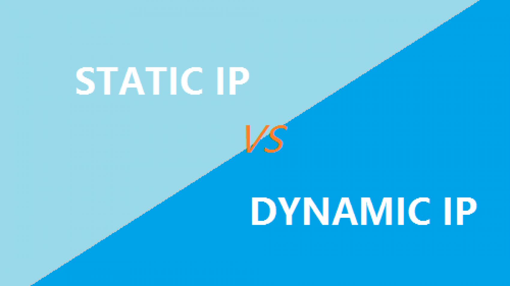 تفاوت IP ثابت و پویا