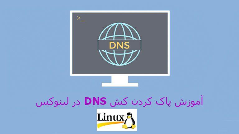 نحوه پاک کردن کش DNS در لینوکس