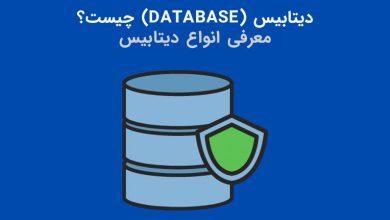 تصویر از دیتابیس (Database) یا پایگاه داده چیست؟