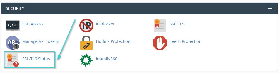 مراجل نصب SSL رایگان در سی پنل